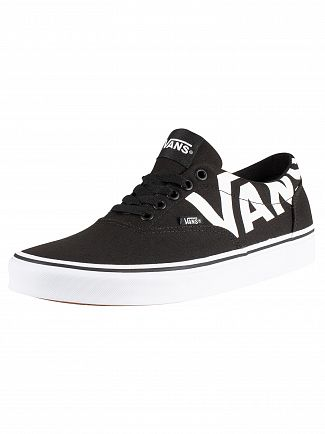 Vans Black/White Doheny Big Logo Trainers