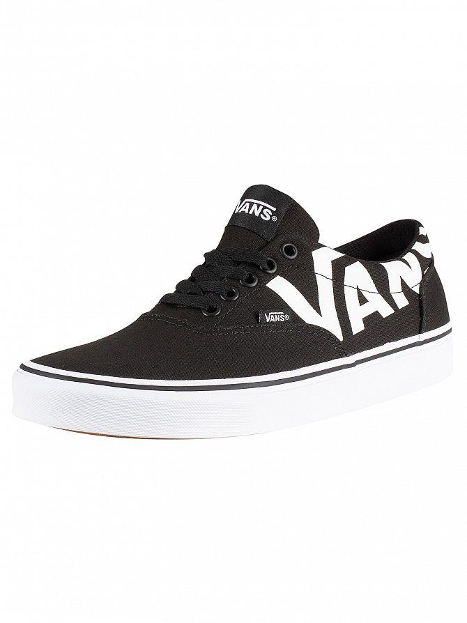 Vans Black/White Doheny Big Logo Trainers