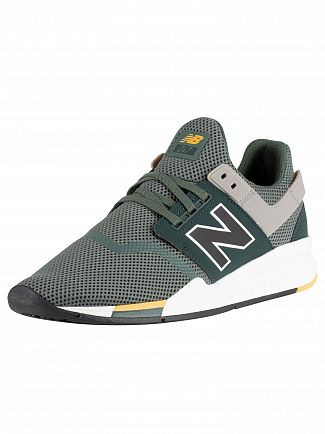New Balance Green/Grey 247 Trainers