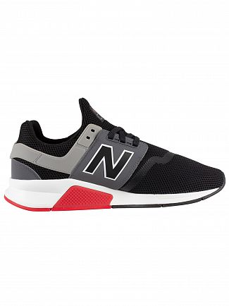 New Balance Black/Grey 247 Trainers