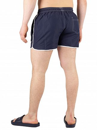 Calvin Klein Blue Shadow Short Runner Swimshorts