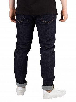 Carhartt WIP Blue Rinsed Coast Tapered Jeans