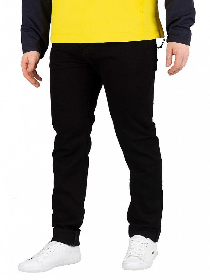 Carhartt WIP Black  Coast Tapered Jeans