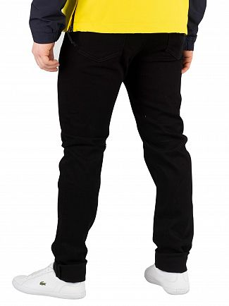 Carhartt WIP Black  Coast Tapered Jeans