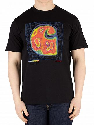 Carhartt WIP Black Heatmap T-Shirt