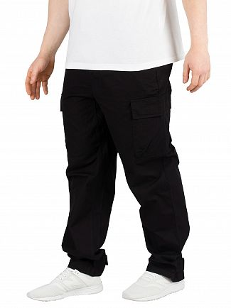 Carhartt WIP Black Rinsed Laxford Joggers
