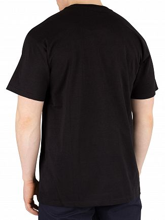 Carhartt WIP Black/Camo Laurel Lester Pocket T-Shirt
