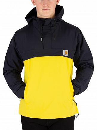 Carhartt WIP Dark Navy/Primula Nimbus Two Tone Pullover Jacket