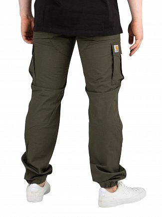 Carhartt WIP Cypress Rinsed Aviation Slim Fit Cargos