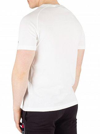 Champion White Chest Logo T-Shirt