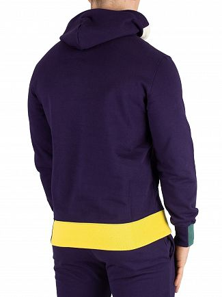 Champion Navy Logo Pullover Hoodie