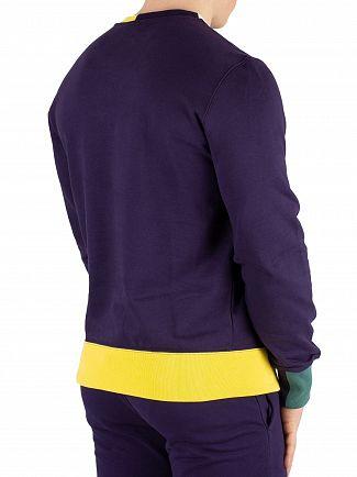 Champion Navy Logo Sweatshirt