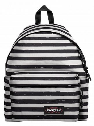 Eastpak Striped It Black Padded Pak'R Backpack