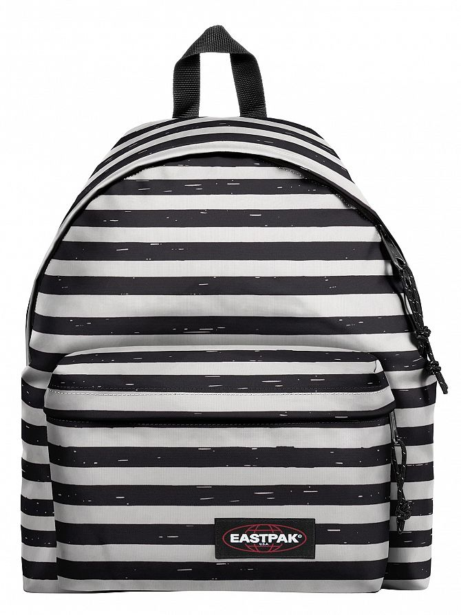 Eastpak Striped It Black Padded Pak'R Backpack