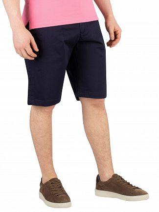 Gant Marine Relaxed Twill Chino Shorts