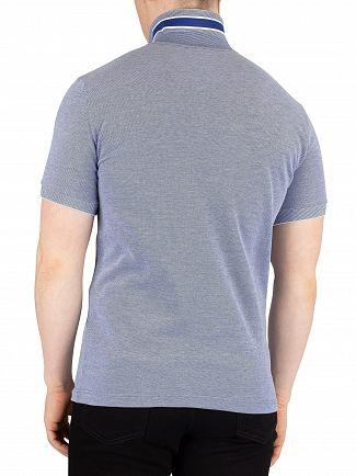 Lacoste Blue Marine Logo Slim Poloshirt