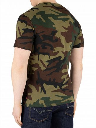 Levi's Camo Housemark Graphic T-Shirt