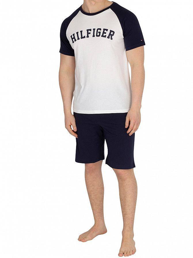 Tommy Hilfiger Navy Blazer Pyjama Set
