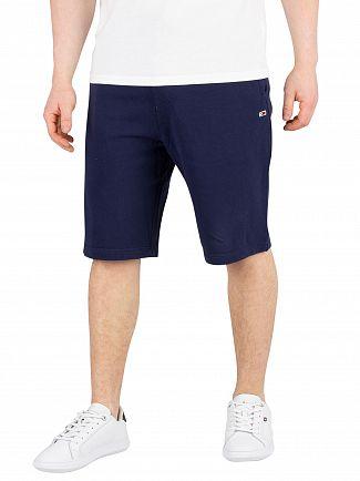Tommy Jeans Black Iris Navy Classic Sweatshorts