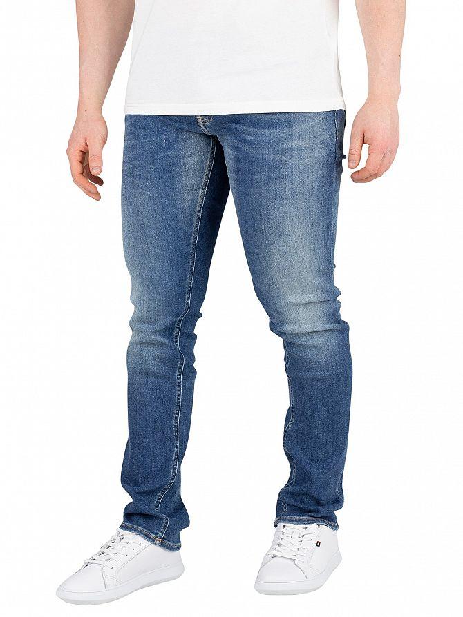 Tommy Jeans Falcon Mid Blue Slim Scanton Jeans