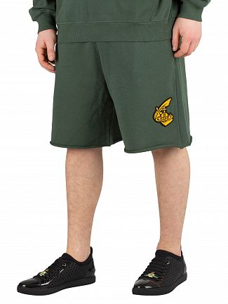 Vivienne Westwood Green Action Man Sweatshorts