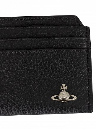 Vivienne Westwood Black Milano Slim Card Holder