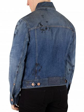 Vivienne Westwood Blue New Aged Jacket