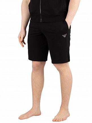 Emporio Armani Black Bermuda Pyjama Shorts