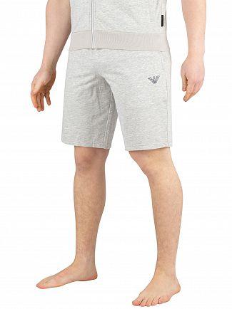 Emporio Armani Grey Melange Bermuda Pyjama Shorts