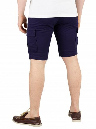 Lyle & Scott Navy Cargo Shorts