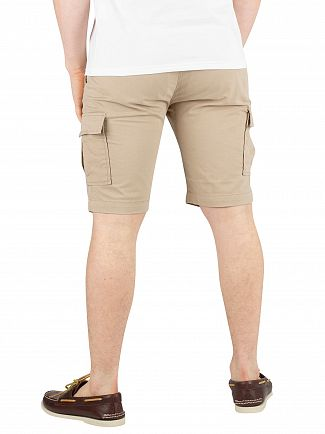 Lyle & Scott Stone Cargo Shorts