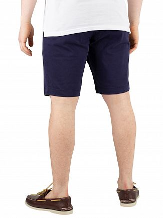 Lyle & Scott Navy Chino Shorts