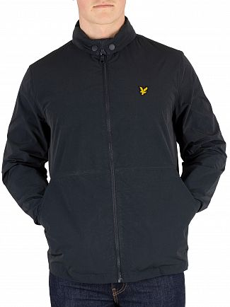 Lyle & Scott Dark Navy Fold Collar Jacket