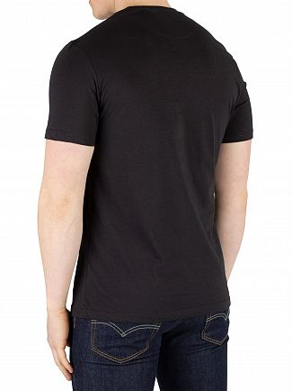 Lyle & Scott True Black Graphic T-Shirt