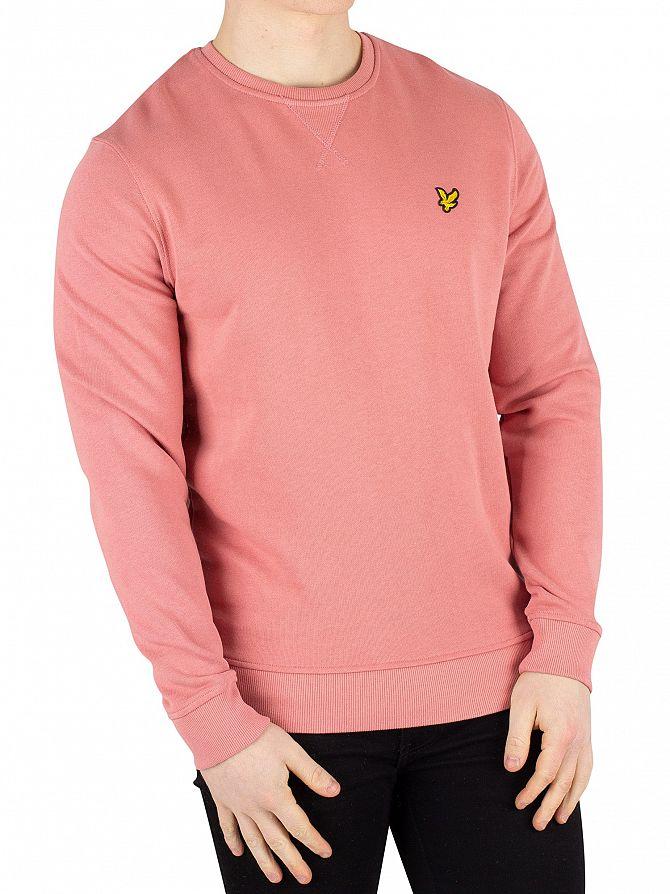 Lyle & Scott Pink Shadow Logo Sweatshirt