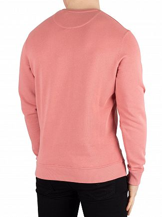 Lyle & Scott Pink Shadow Logo Sweatshirt