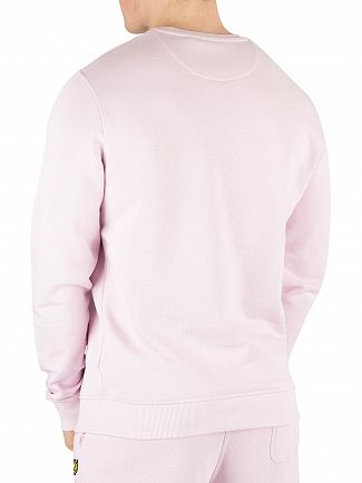 Lyle & Scott Dusky Lilac Logo Sweatshirt