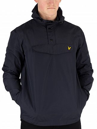 Lyle & Scott Dark Navy Overhead Anorak Jacket