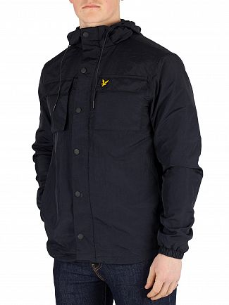 Lyle & Scott Dark Navy Pocket Jacket