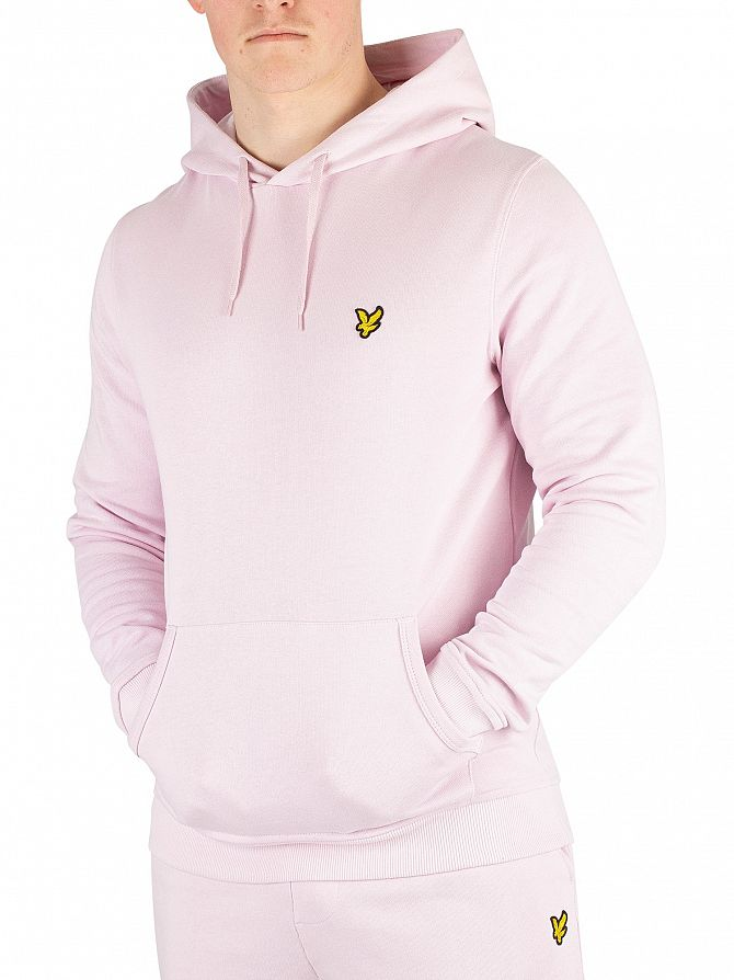 Lyle & Scott Dusky Lilac Pullover Hoodie