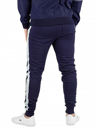 Lyle & Scott Navy Side Stripe Skinny Joggers