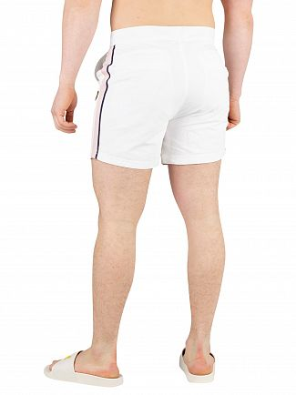 Lyle & Scott White Side Stripe Swimshorts