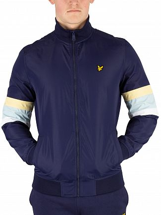 Lyle & Scott Navy Track Jacket