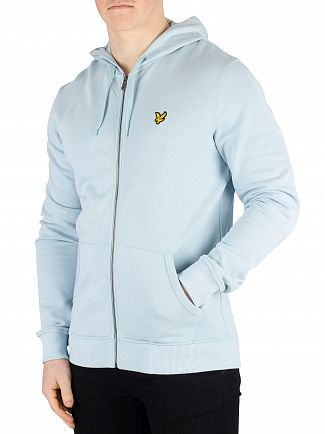 Lyle & Scott Blue Shore Zip Hoodie
