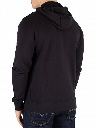 Lyle & Scott True Black Zip Hoodie