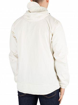 Lyle & Scott Snow White Zip Though Hooded Jacket