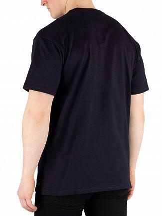 Carhartt WIP Dark Navy/Gold Chase T-Shirt