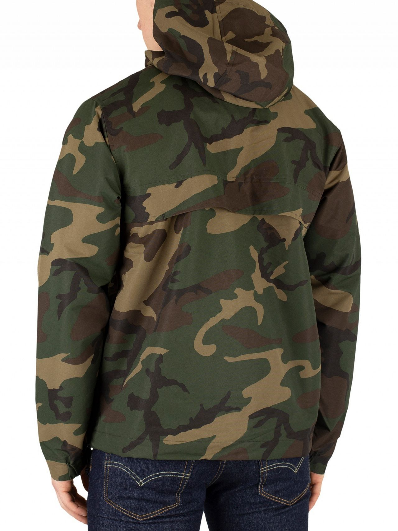 10462a31 Carhartt WIP Camo Laurel Nimbus Pullover Jacket | Standout
