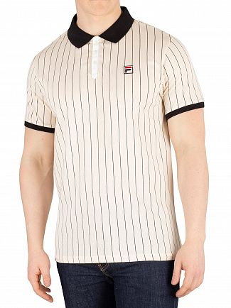Fila Sand Dollar Borg Striped Poloshirt