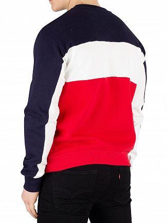 Fila Peacoat Brock Cut & Sew Sweatshirt